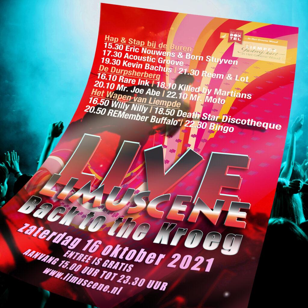 Limuscene Live Back to the Kroeg 16 oktober 2021 - Mr. Joe Abe - 20:10u - 20:50U.